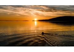Fetching Sunset from Ardmair Beach