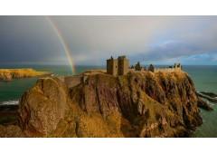 Dunnottar Castle Rainbow 1