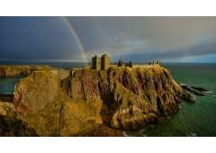 Dunnottar Castle Rainbow 2