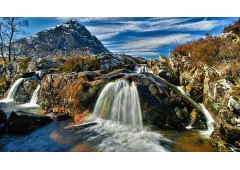 Etive Mor Waterfall, and Stob Dearg